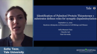 Short Talk: Identification of Palmitoyl Protein Thioesterase Substrates Defines Roles for Synaptic Depalmitoylation