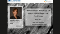 Short Talk: Role of Autophagy and Beclin 1 in Aging