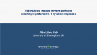 Tuberculosis alters immune-metabolic pathways resulting in perturbed IL-1 responses
