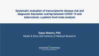 Systematic evaluation of transcriptomic disease risk and diagnostic biomarker overlap between COVID-19 and tuberculosis: a patient-level meta-analysis