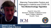 Silencing Transcription Factors and Pathogens in Asthma and COVID‑19: Two Biotechnology Vignettes