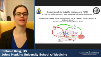 Short Talk: Pyrazinamide Inhibits the Host Enzyme PARP1 to Reduce Inflammation and Accelerate Bacterial Clearance