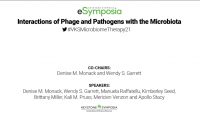 [Harnessing the Microbiome] Interactions of Phage and Pathogens with the Microbiota icon