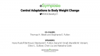 Central Adaptations to Body Weight Change