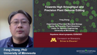 Improving Scalable and Precision Genome Editing in Plants