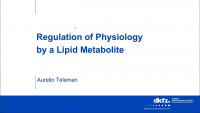 Regulation of Growth and Signaling by a Lipid Metabolite