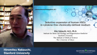 Short Talk: Selective Expansion of Human HSCs in Cytokine-Free Chemically-Defined Medium icon