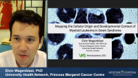 Short Talk: Mapping the Cellular Origin and Developmental Context of Myeloid Leukemia in Down Syndrome icon