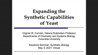 Expanding the Synthetic Capabilities of Yeast