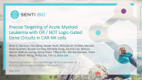 Precise Targeting of Acute Myeloid Leukemia with OR / NOT Logic-Gated Gene Circuits in CAR-NK Cells