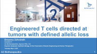 Short Talk: Engineered T Cells Directed at Tumors with Defined Allelic Loss