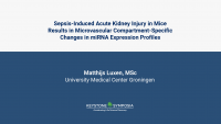 Sepsis-Induced Acute Kidney Injury in Mice Results in Microvascular Compartment-Specific Changes in miRNA Expression Profiles icon