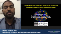 Short Talk: LncRNA Malat1 Facilitates Breast Cancer Metastatic Dormancy and Reactivation by Immune Evasion icon