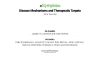 [Joint Session] Disease Mechanisms and Therapeutic Targets icon