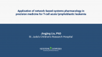 Application of network-based systems pharmacology in precision medicine for T-cell acute lymphoblastic leukemia icon