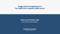 Design and immunogenicity of a Pan-SARS-CoV-2 synthetic DNA vaccine icon