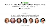 ePanel | Brain Therapeutics: Lessons Learned from Pandemic Times icon