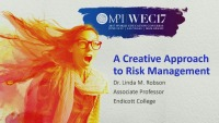 A Creative Approach to Risk Management