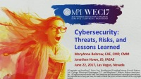 Cybersecurity: Threats, Risks and Lessons Learned