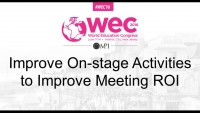 Improve On-stage Activities to Improve Meeting ROI