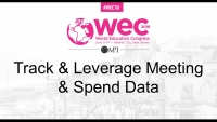 Track & Leverage Meeting & Spend Data