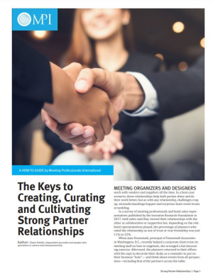 The Keys to Creating, Curating and Cultivating Strong Partner Relationships