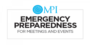 Emergency Preparedness For Meetings and Events 04.22.2020