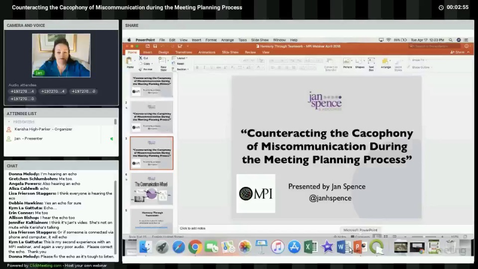 Counteracting the Cacophony of Miscommunication during the Meeting Planning Process