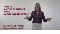 How to Avoid Burnout When Working Remotely