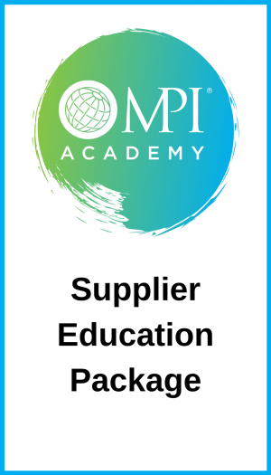 Supplier Education Package