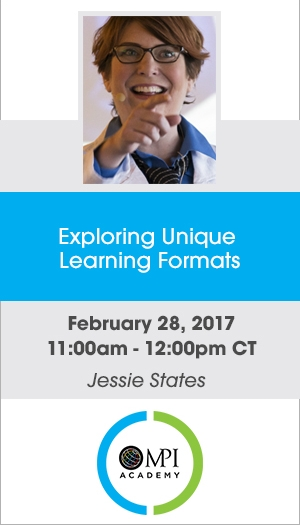 Exploring Unique Learning Formats - Member