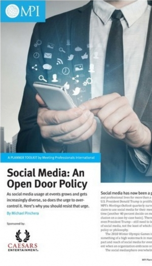 Social Media Open Door Policy
