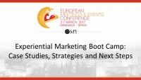 Experiential Marketing Boot Camp: Case Studies, Strategies and Next Steps