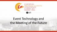 Event Technology and the Meeting of the Future