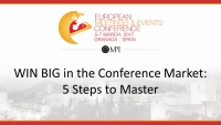WIN BIG in the Conference Market: 5 Steps to Master