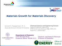 Tutorial NN - Materials by Design - New Materials Discovery by Inverting Conventional Approaches<br />Part 4: New Materials Discovery Experiment