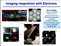 Tutorial U: Imaging Magnetism with Electrons