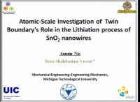 Atomic-Scale Investigation of the Role of Twin Boundary in Lithiation Process in SnO2 Nanowires