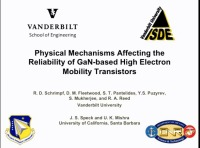 Physical Mechanisms Affecting the Reliability of GaN-Based High Electron Mobility Transistors