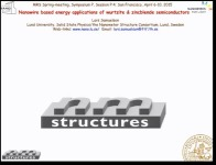 Nanowire Based Energy Applications of Wurtzite and Zincblende Semiconductors