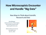 "Recognizing and Addressing ""Big Data"" Problems"