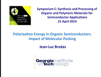 Polarization Energy in Organic Semiconductors: Impact of Molecular Packing