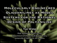 Molecularly Engineered Oligoanilines as Model Systems for the Rational Design of Polyaniline