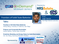 Frontiers of Solid State Batteries