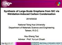 Synthesis of Large-Scale Graphene from SiC via Nitridation-Induced Carbon Condensation