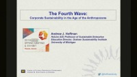The Fourth Wave: Sustainability, Management and the Age of the Anthropocene