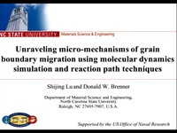 Unraveling Micro-Mechanisms of Grain Boundary Migration Using Molecular Dynamics Simulation and Reaction Path Techniques