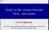 Study on the Contact between MoS2 and Metals