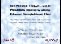 Self-Powered n-MgxZn1-xO/p-Si Photodetector Improved by Alloying-Enhanced Piezo-Phototronic Effect