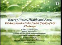 The Nexus of Energy, Water, Health and Food: Thinking Small to Solve Global Quality of Life Challenges